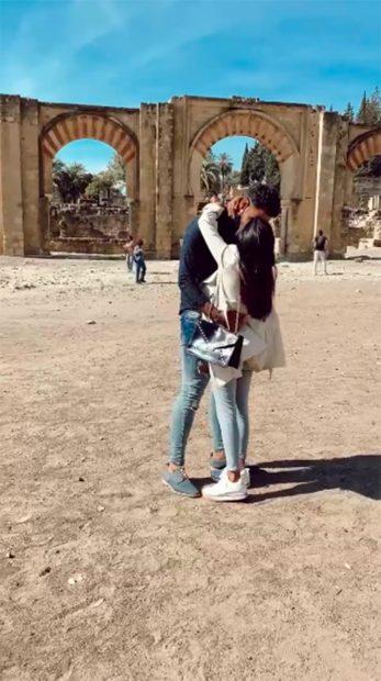 Isa P y Asraf Beno están comprometidos desde hace cuatro meses./Instagram @asraf_beno