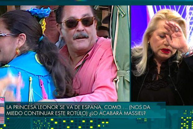 Maite Zaldívar ha relatado su paso por la cárcel en 'Sábado Deluxe'./Telecinco