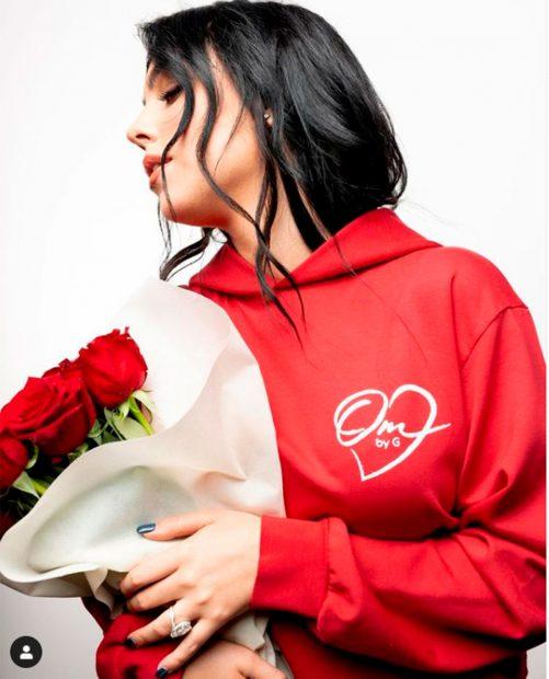 Así presentó Georgina Rodríguez su chándal, ideal para regalar en San Valentín / Instagram