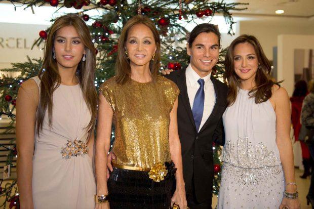 Isabel Preysler, Ana Boyer, Tamara Falcó, Julio José Iglesias Preysler