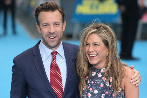 Jennifer Aniston y Jason Sudeikis en una imagen de archivo./Gtres