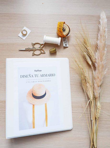 Libro 'Diseña tu armario'./Instagram @livinginflipflops