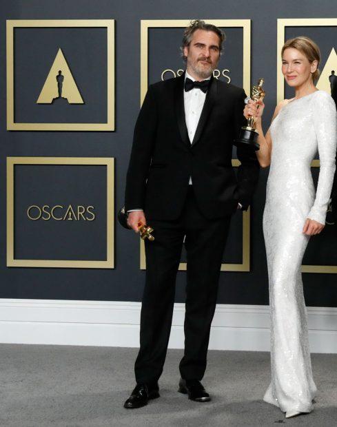 Joaquin Phoenix y Renée Zellweger en una imagen de archivo./Gtres