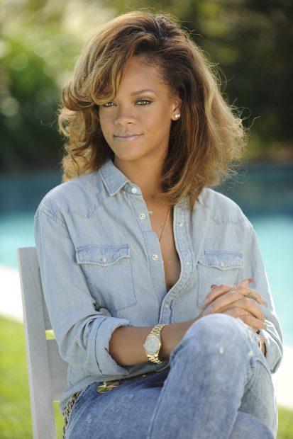 Rihanna en una imagen de archivo./Gtres