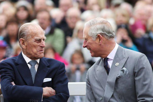 El príncipe Carlos y el duque de Edimburgo en una imagen de archivo./Gtres