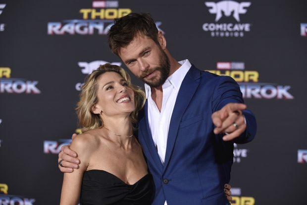 Elsa Pataky y Chris Hemsworth en una imagen de archivo./Gtres