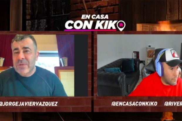 Jorge Javier se ha sincerado en el programa 'En casa con Kiko'./Twitch
