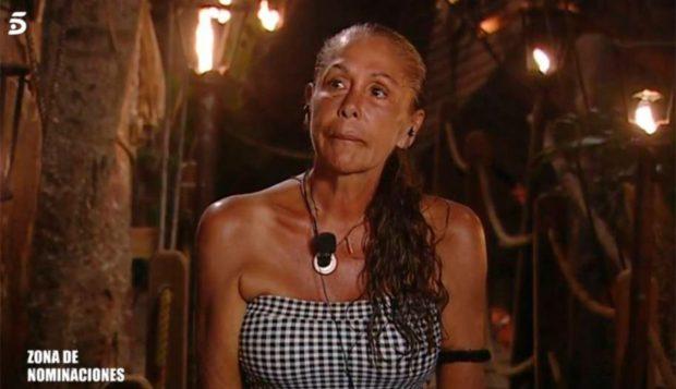 Isabel Pantoja, durante su paso por 'Supervivientes' / Mediaset