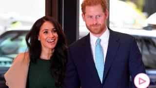 El príncipe Harry y Meghan Markle han reaparecido este lunes / Gtres