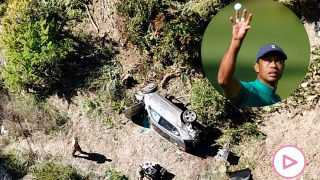 Accidente de Tiger Woods / Gtres
