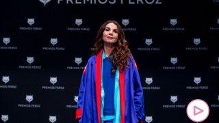 Victoria Abril, en la rueda de prensa de los Premios Feroz / Gtres