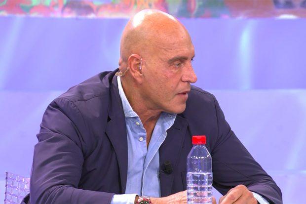 Kiko Matamoros en 'Sálvame'./Telecinco