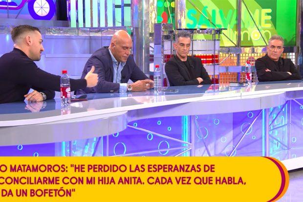 Kiko Matamoros pierde la esperanza de reonciliarse con su hija Anita./Telecinco