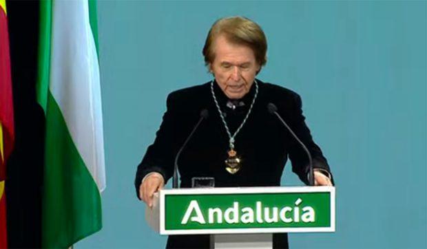 El cantante Raphael ha sido nombrado como Hijo Predilecto de Andalucía./Canal Sur