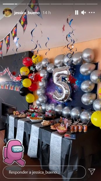 Así ha sido la fiesta que Jessica Bueno ha organizado a su hijo / Instagram: @jessica_bueno