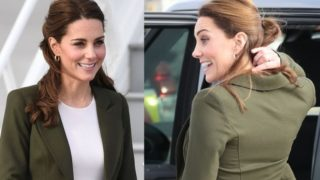 La blazer verde de Kate Middleton que encontrarás en Zara