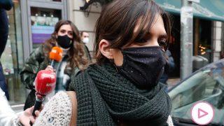 Sara Carbonero a su salida del restaurante / Gtres