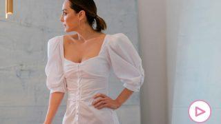 Tamara Falcó, posando con ropa de su colección / TFP