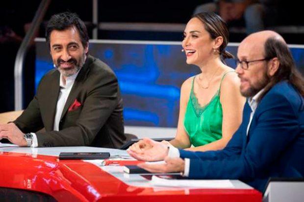 Juan del Val, Tamara Falcó, Santiago Segura