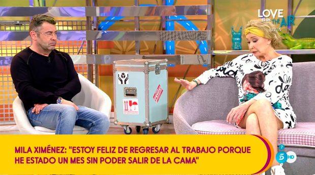 Mila Ximénez y Jorge Javier / Mediaset