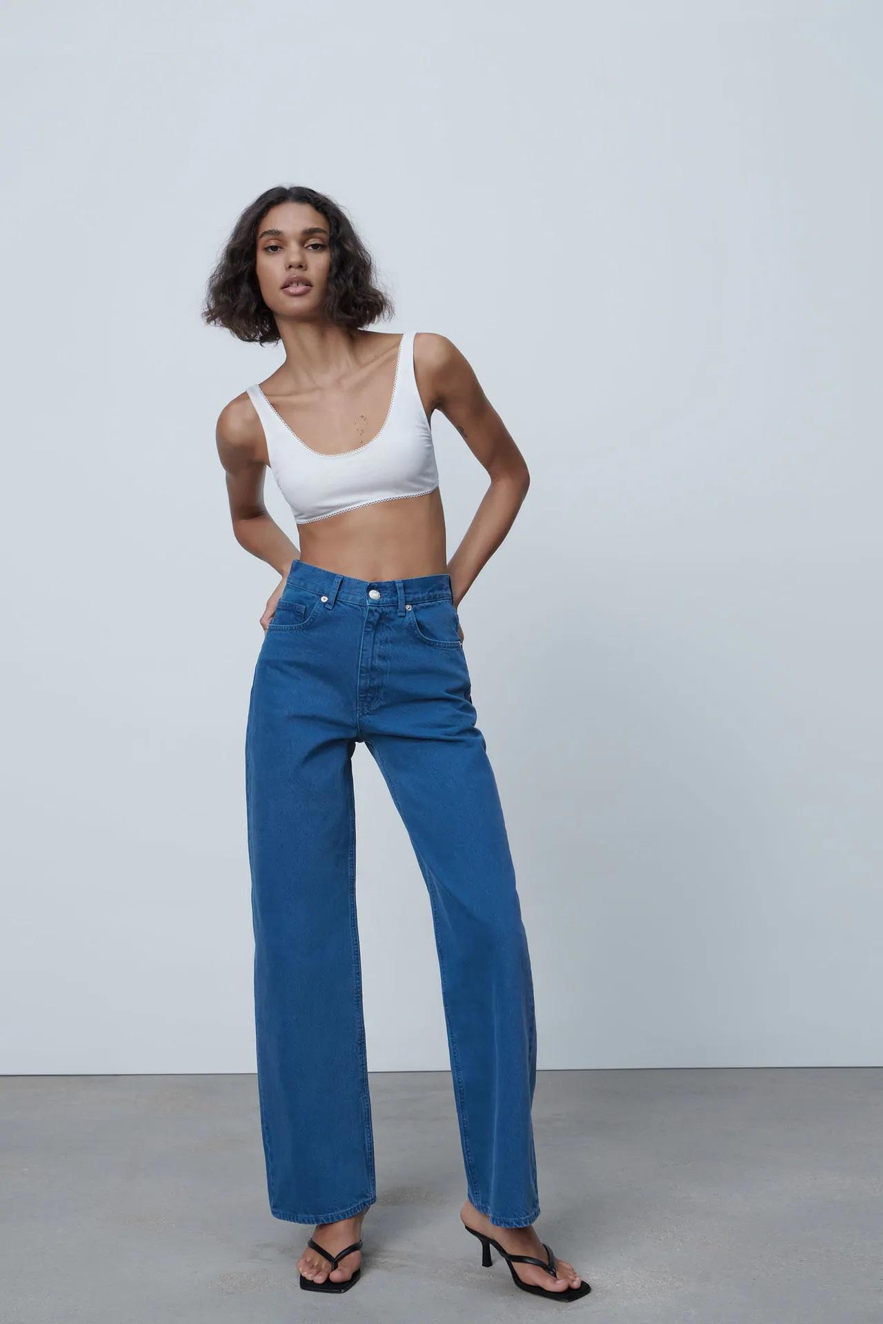 ¡Adiós pantalones pitillos, hola vaqueros anchos! Así son los más vendidos de Zara