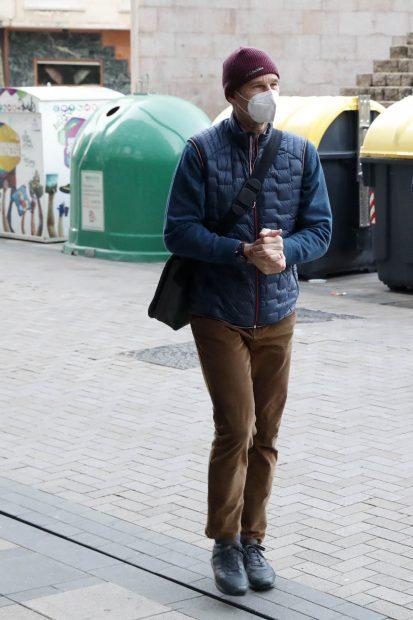 Iñaki Urdangarin llega al bufete de abogados donde va a trabajar a partir de ahora / Gtres