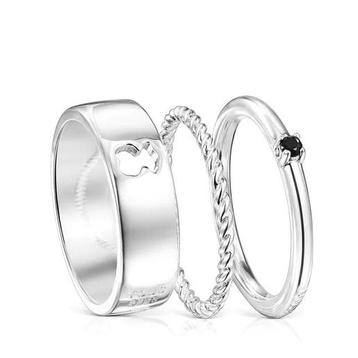 Estos son los anillos combinables de Tous con los que llenar tu joyero por poco dinero