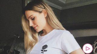 Edurne y David de Gea ya tienen con ella a su hija / Instagram