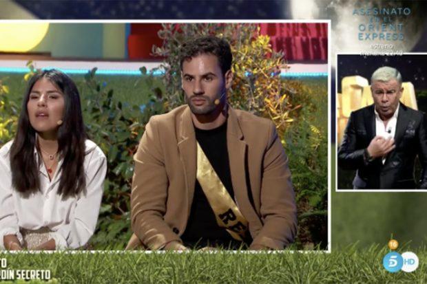 Isa P y Asraf Beno durante su paso por 'La casa fuerte 2'./Telecinco