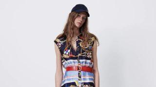 Zara tiene el vestido de estampado marinero con el que soñaras en Semana Santa