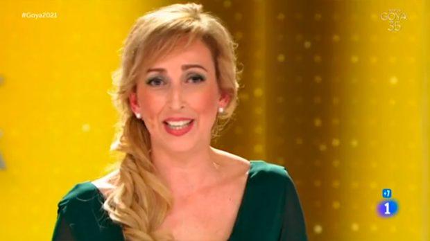 Ana María Ruiz, enfermera premios Goya
