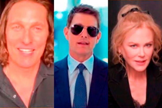 Matthew McConaughey, Tom Cruise y Nicole Kidman