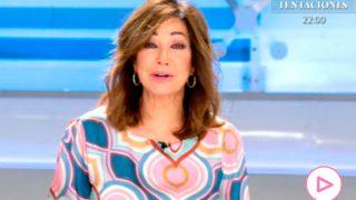 Ana Rosa Quintana y su discurso por el 8-M/Telecinco
