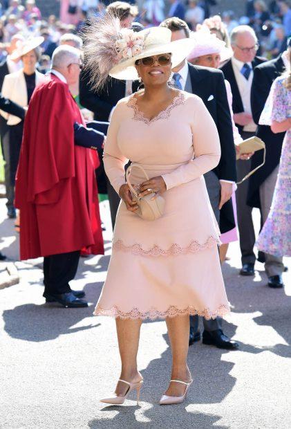 De hecho, Winfrey acudió como invitada a la boda de los Sussex