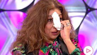 Lolita Flores llora en su visita al programa de Toñi Moreno/Canal Sur