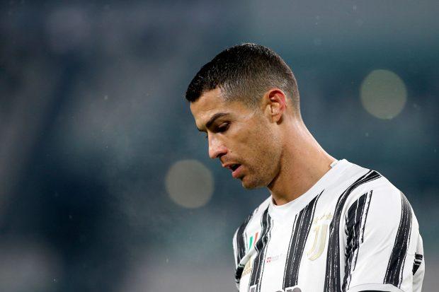 Cristiano Ronaldo, pensativo durante un partido / Gtres
