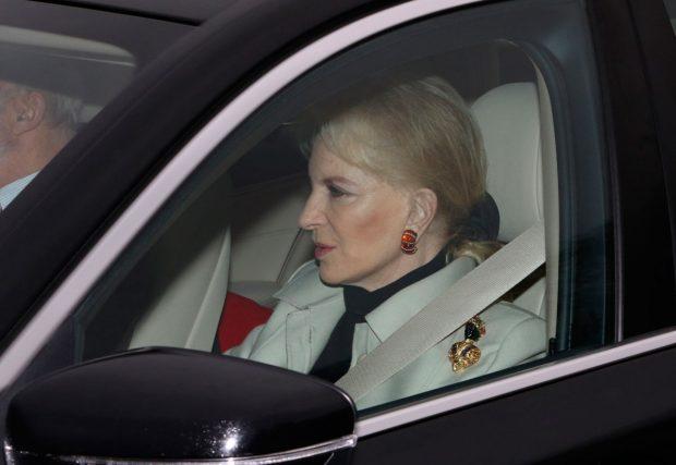 la princesa María Cristina de Kent