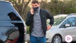 Iker Casillas, en su primera aparición tras la noticia de su divorcio / Gtres