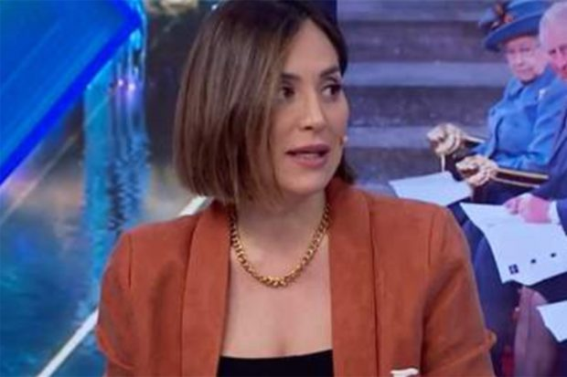 Tamara Falcó ha dado su opinión sobre la entrevista del príncipe Harry y Meghan Markle a Oprah Winfrey./Antena 3