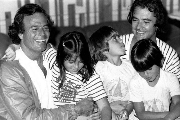 Julio Iglesias, Chábeli Iglesias, Julio José Iglesias, Enrique Iglesias