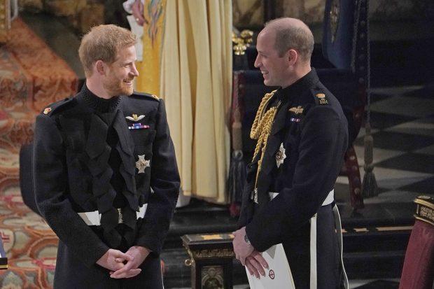 El príncipe Guillermo y el príncipe Harry en una imagen de archivo./Gtres
