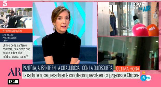 Paloma García-Pelayo ha explicado por qué Isabel Pantoja no se ha presentado / Mediaset