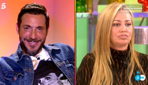 Belén Esteban, que siempre ha apoyado a Antonio David, cree que es el final del colaborador en la televisión / Mediaset
