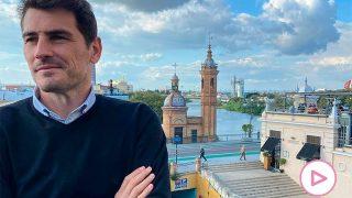 Iker Casillas, en Sevilla, este pasado fin de semana / Instagram: @ikercasillas