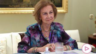 La reina Sofía ha tenido reunión este miércoles / Casa Real
