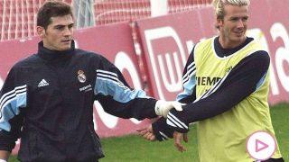 David Beckham e Iker Casillas / Instagram: @ikercasillas
