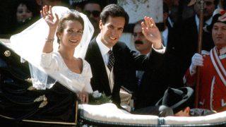 La infanta Elena y Jaime de Marichalar el día de su boda / Gtres