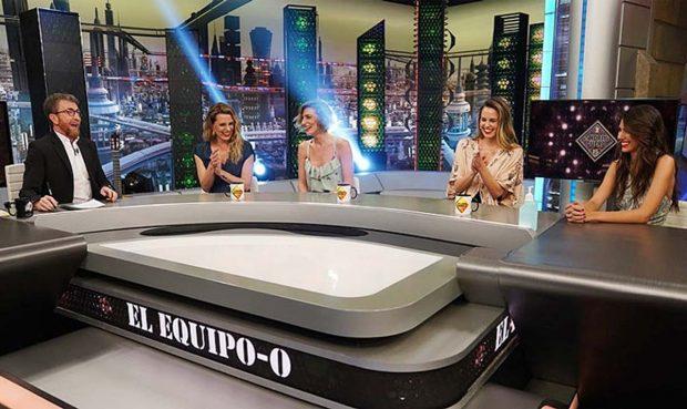 Pablo Motos, Alejandra Osborne, Eugenia Osborne, Claudia Osborne, Ana Cristina Portillo