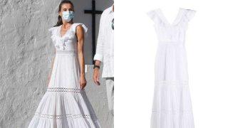 Descubre el vestido blanco ibicenco de la Reina Letizia que puedes comprar o copiar