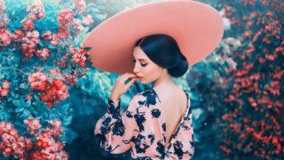 Cómo maquillarnos si llevamos un vestido de estampado floral